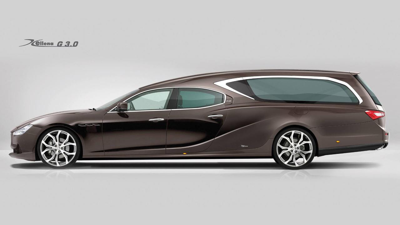 Maserati Ghibli Hearse