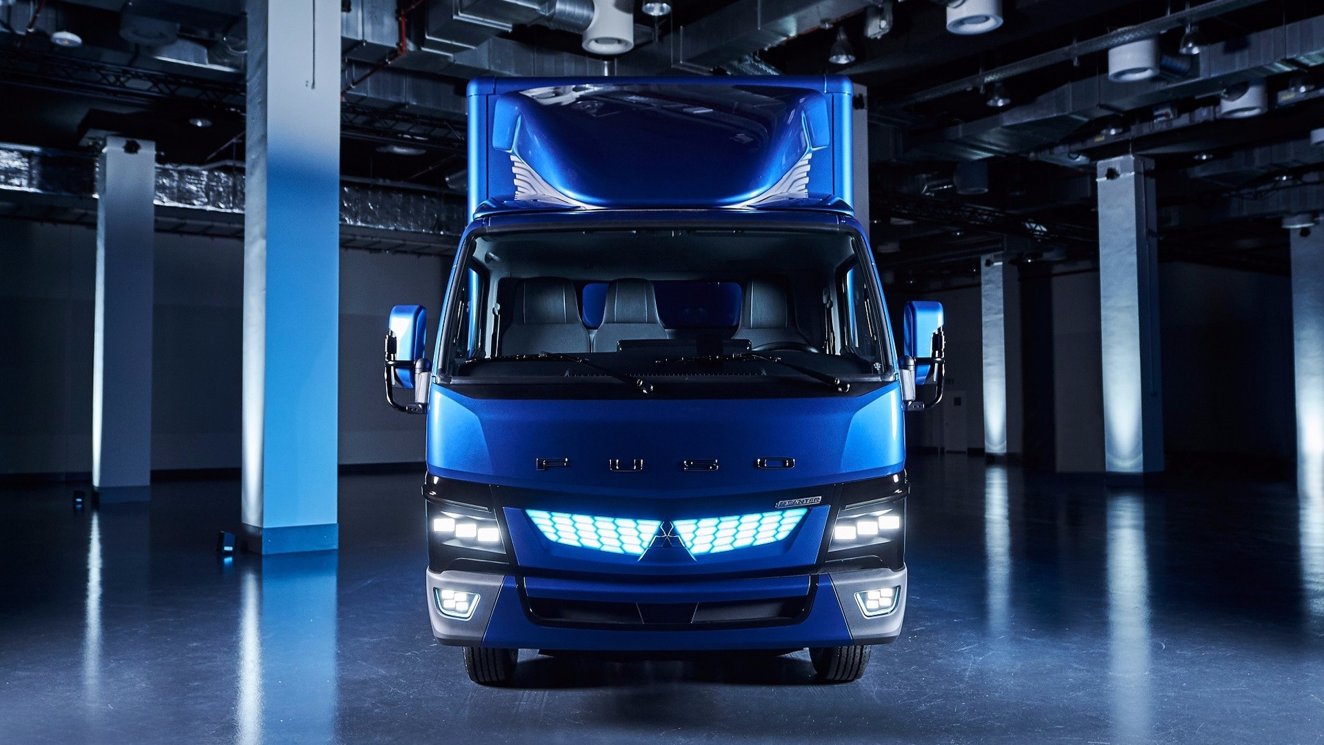 Latest Fuso Ecanter Light Duty Ev Truck Revealed