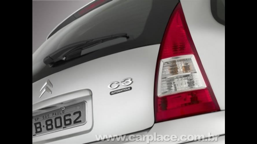 Citroën C3 Automatique - Versão com câmbio automático chega por R$ 47.490
