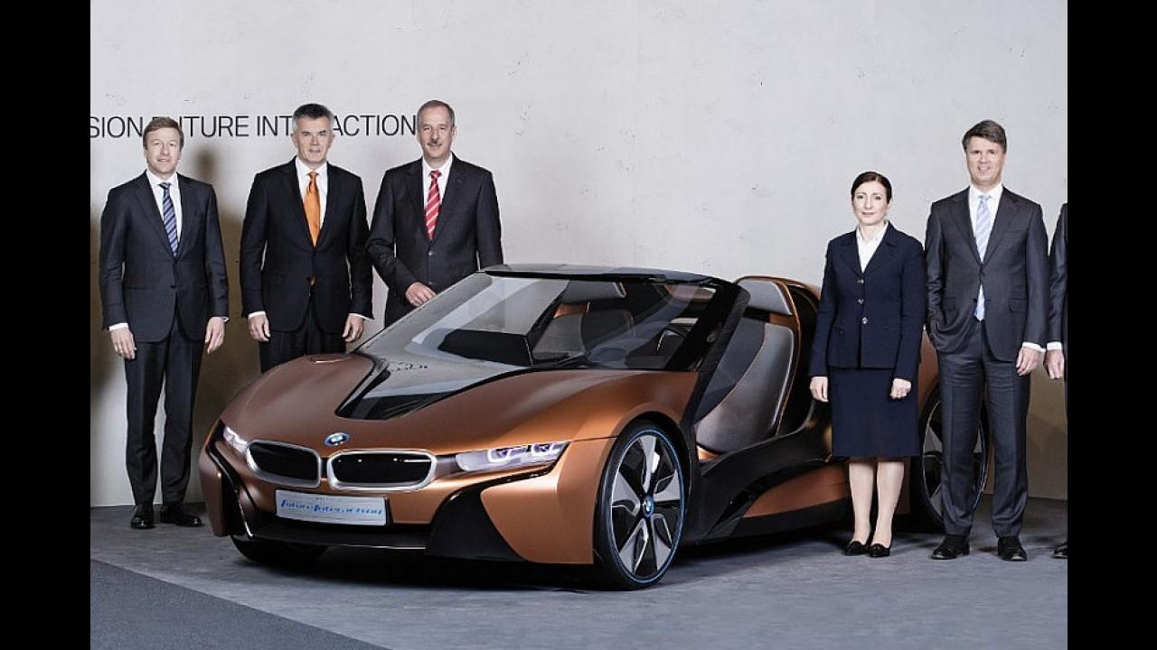 BMW i8 Roadster konseptini hayata geçirecek