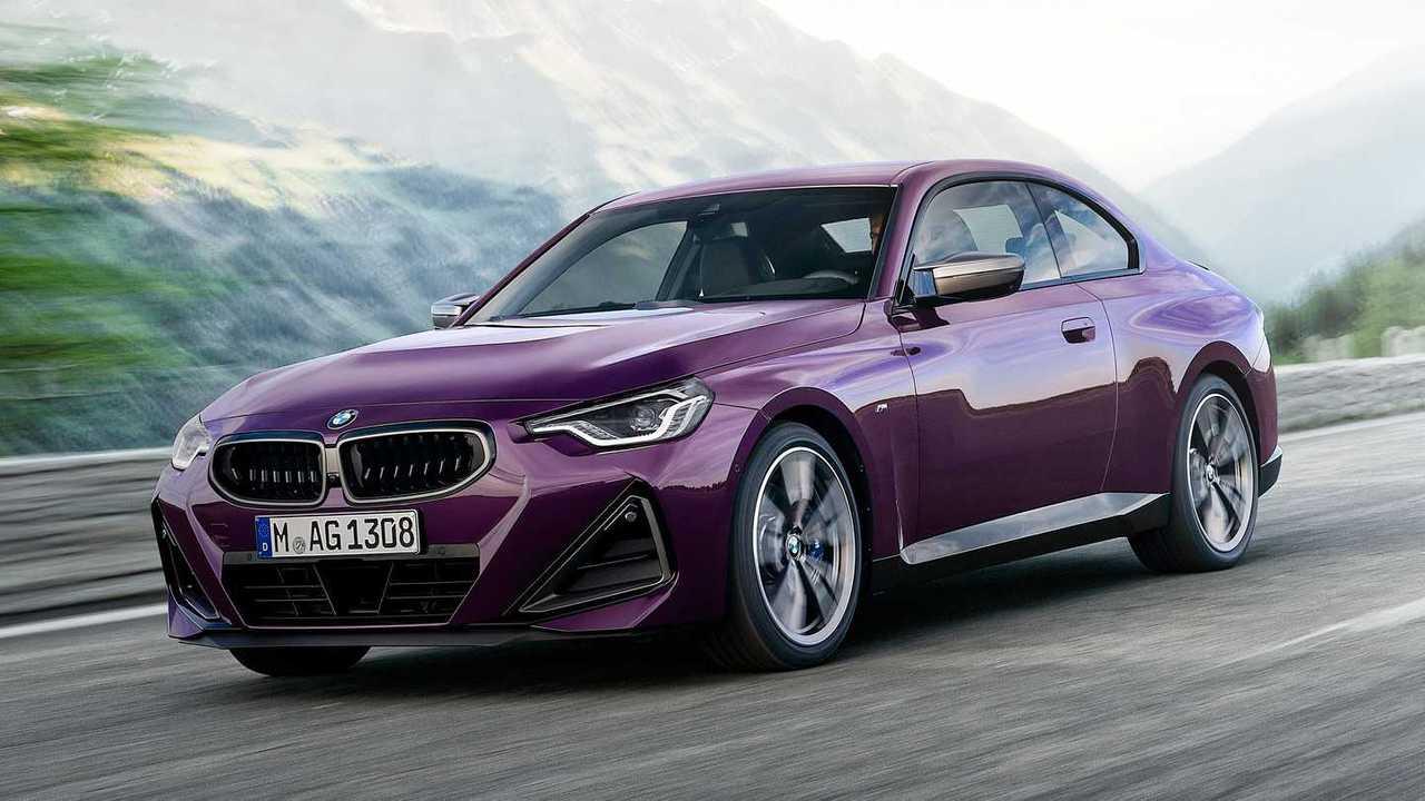 2022 BMW M240i Exterior Front Quarter