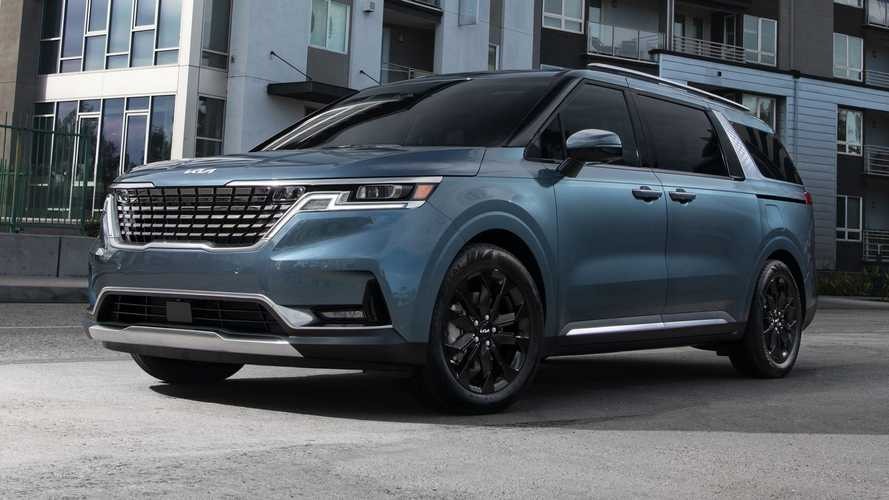 2022 Kia Carnival Minivan Debuts With SUV Styling And Space For Eight