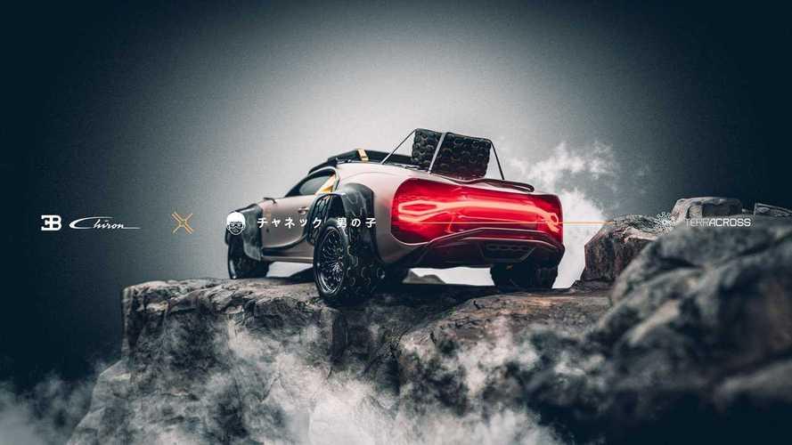 Рендеры Bugatti Chiron Terracross