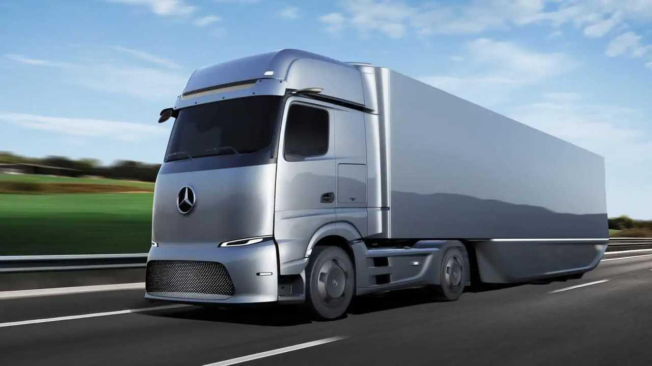 Der Mercedes eActros LongHaul bekommt Akkus von CATL