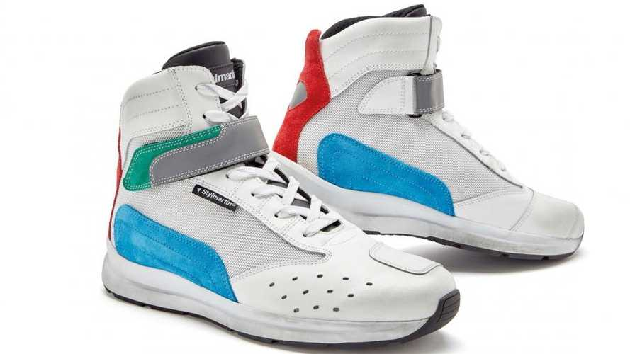Stylmartin Releases Retro-Styled Audax Air Motorcycle Shoes