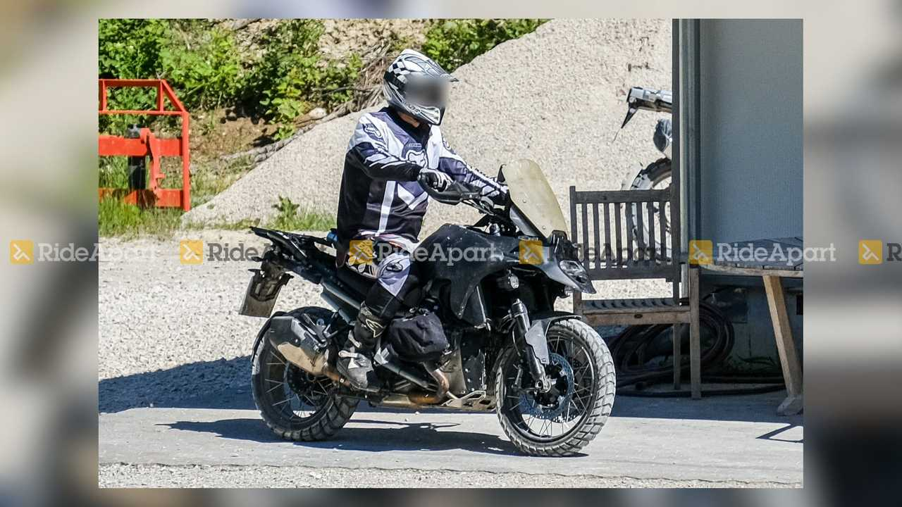 Prototipo  BMW R 1300 GS fotos espia