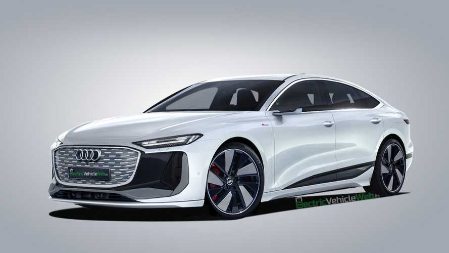 Audi A6 E-Tron Rendered In Production Clothes