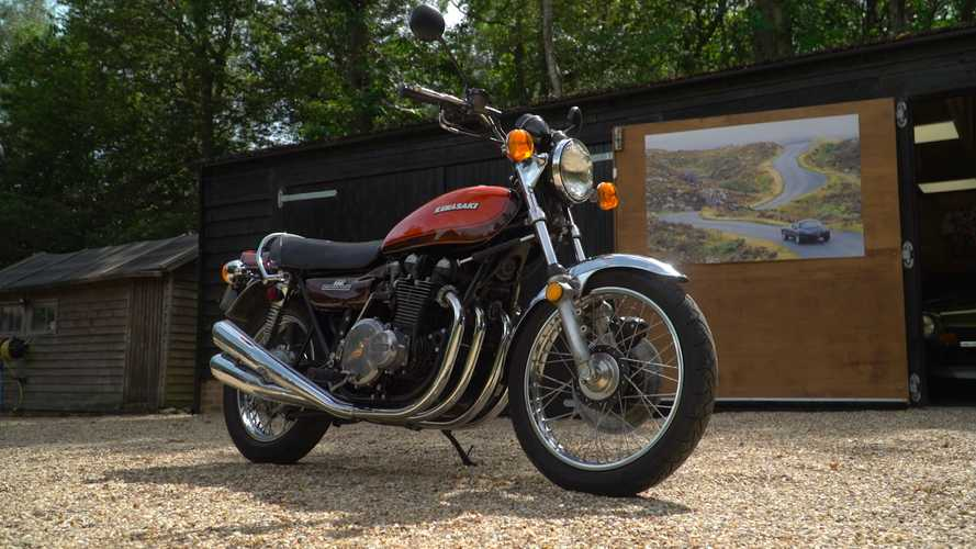 Let The Sight And Sound Of This Kawasaki Z1 Put A Sparkle In Your Eye