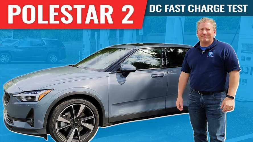 2021 Polestar 2 DC Fast Charge Test