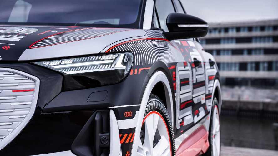 Audi представит 2 новых электрокроссовера в один день