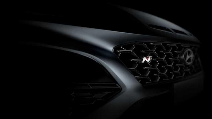 Тизеры Hyundai Kona N без камуфляжа