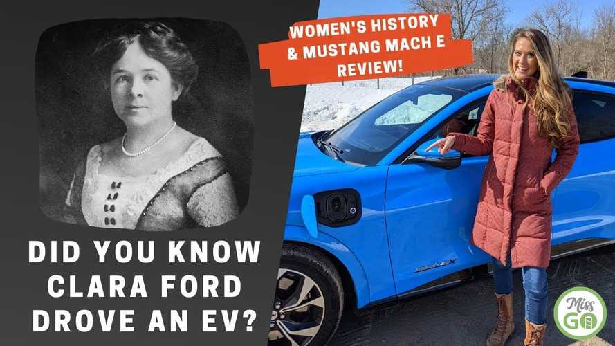 Ford Mustang Mach-E Review & EV History For International Women's Day