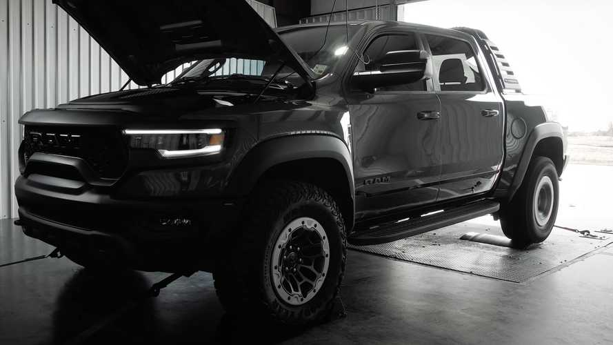 Hennessey Mammoth TRX Dyno Test Result Doesn't Disappoint