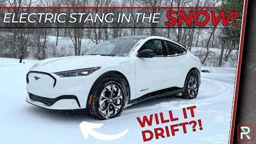 Ford Mustang Mach-E Winter & Snow Testing: Redline Reviews