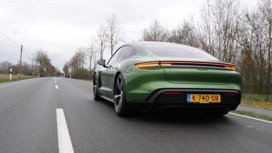 Porsche Taycan 'básico' acelera mais do que informam os dados oficiais