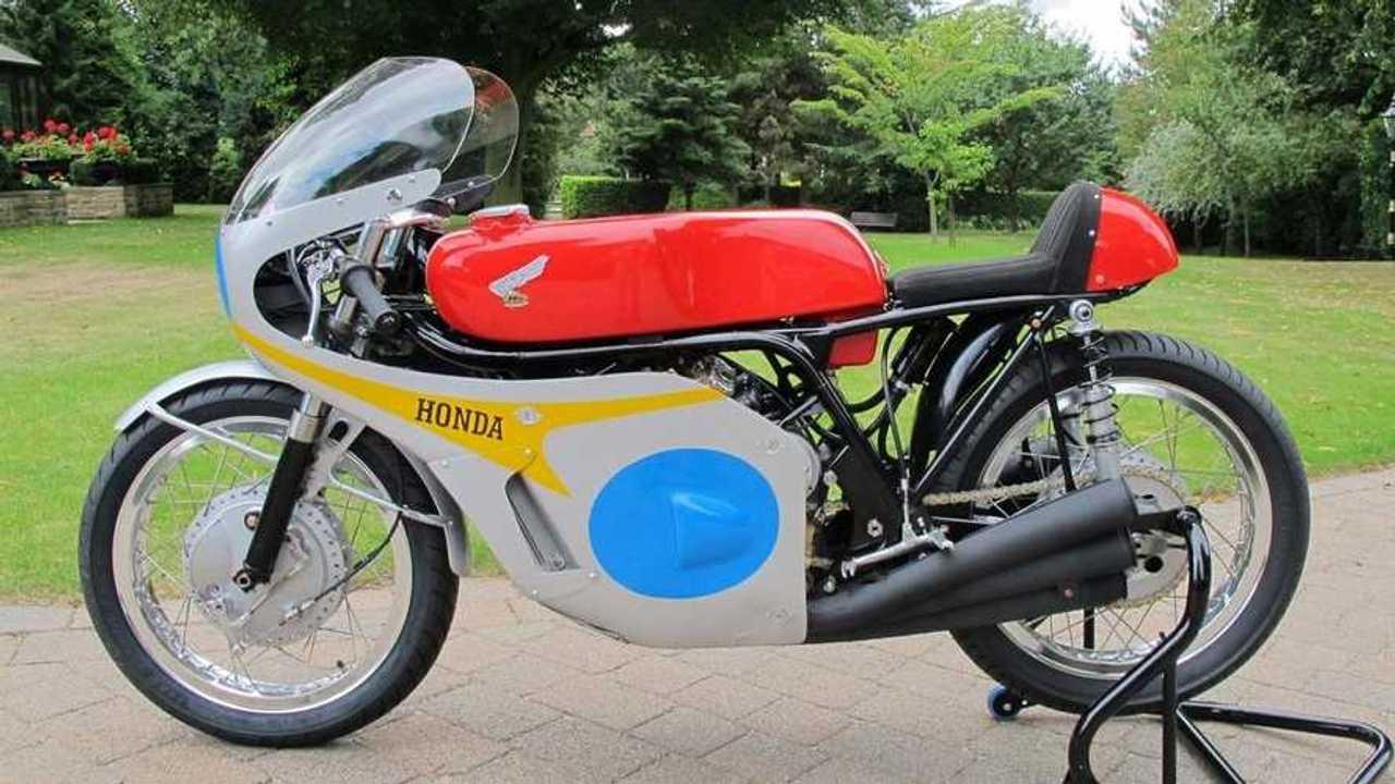 George Beale's Honda RC174 Replica - Main