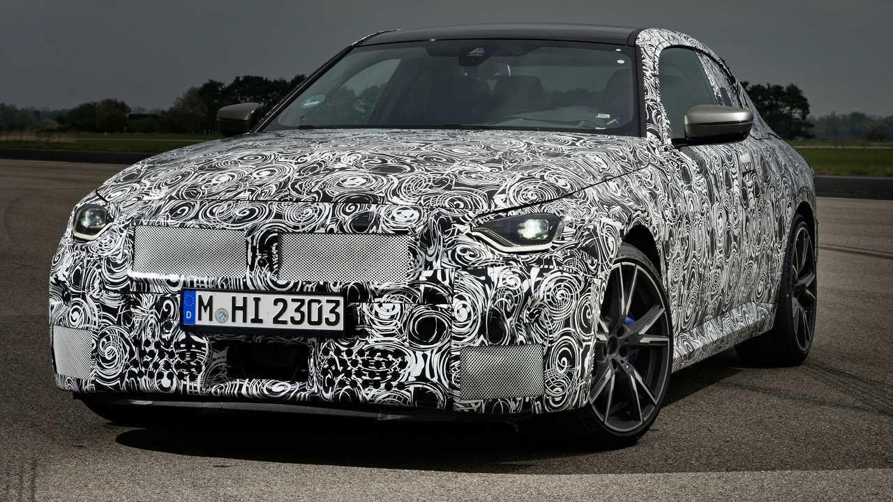 Nuova BMW Serie 2 Coupé, le foto teaser dei prototipi