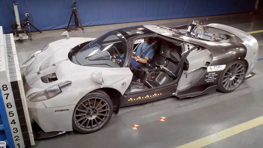 The Glickenhaus 004S Crash Test Video Is Painful To Watch