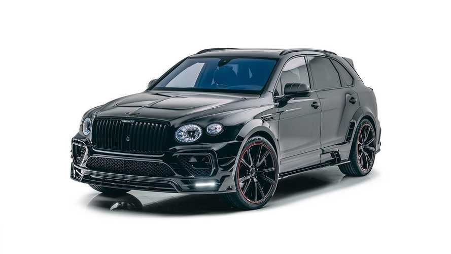 Mansory Tunes Facelifted Bentley Bentayga To Unexpected Results