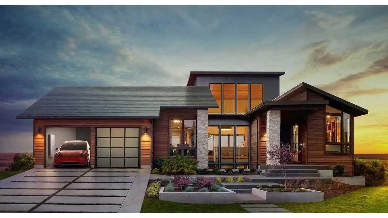 Tesla Solar Roof Görseli