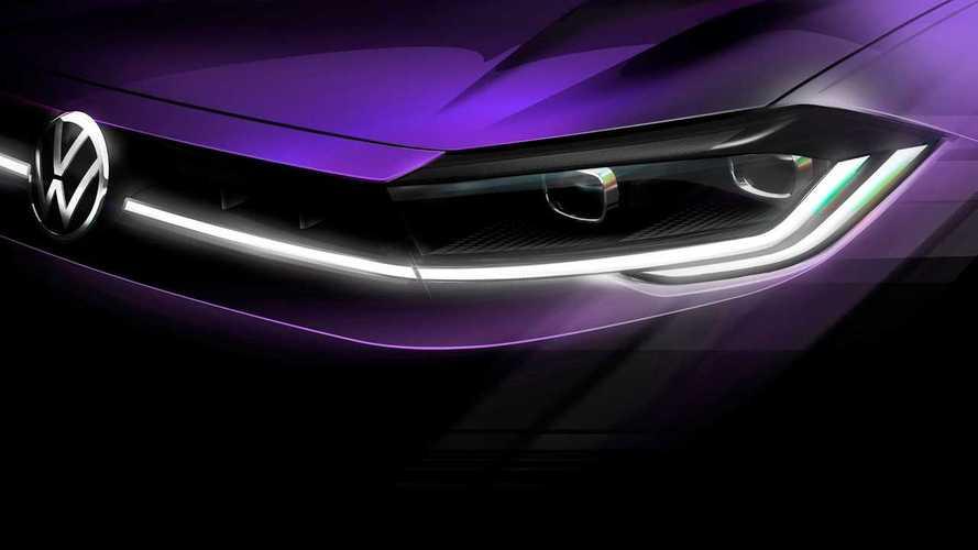 Novo Volkswagen Polo 2022: teaser revela grade em LED como o Taos