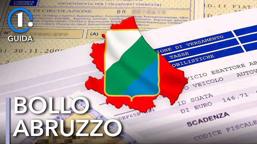 Come si paga il bollo auto in Abruzzo