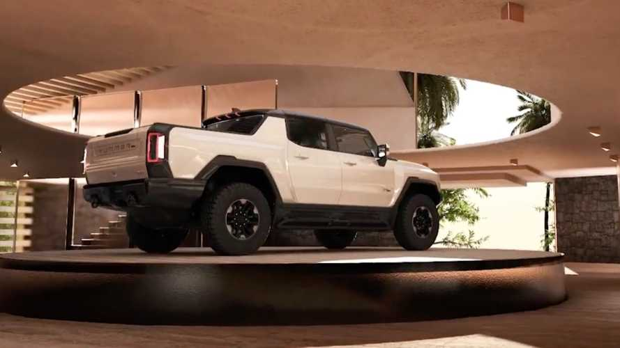 Does This Garage Look Like The Ultimate GMC Hummer EV Base Camp To You?