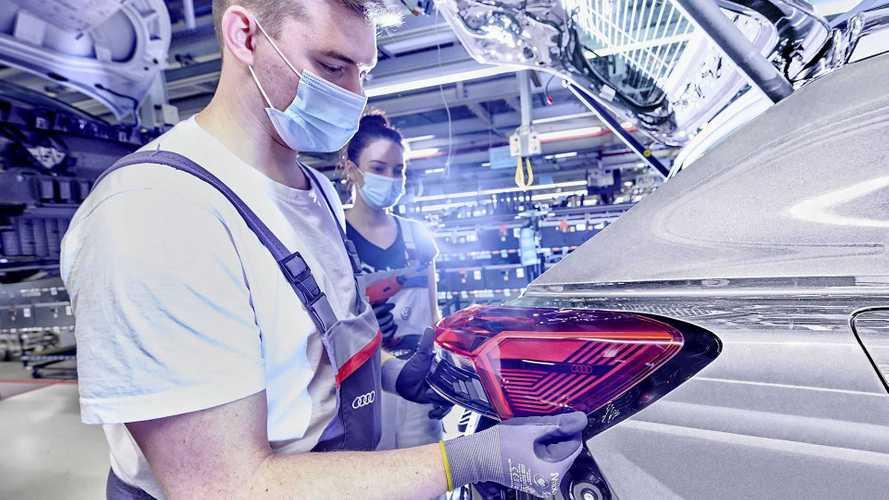 Audi Q4 e-tron: SUV elétrico 'de entrada' tem início de produção