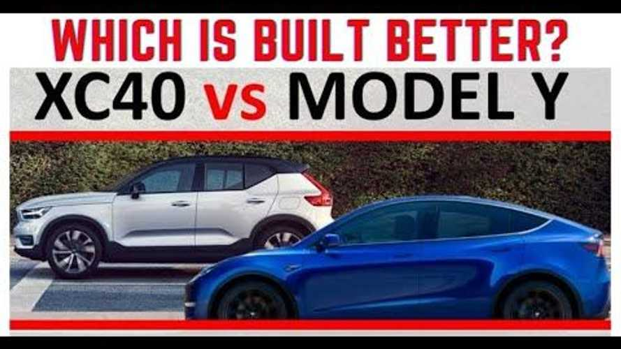 Tesla Model Y Vs Volvo XC40 Recharge: The Electric Man's Review