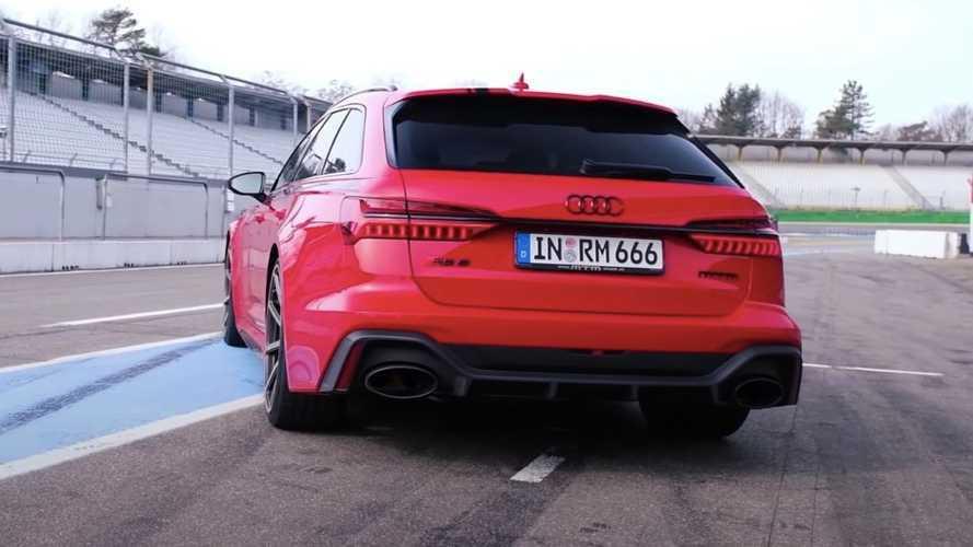Vídeo: el Audi RS 6 Avant de MTM, con 1.001 CV, a tope en un circuito