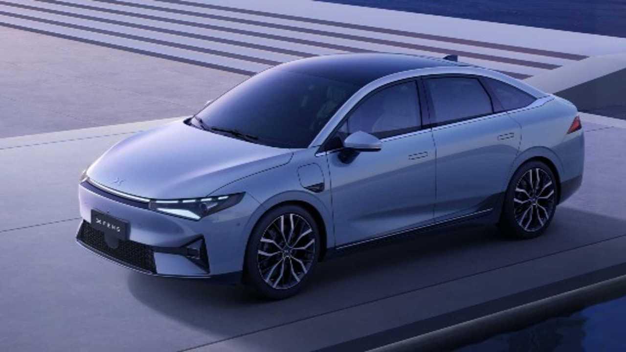 Xpeng stellt die Elektro-Limousine P5 vor