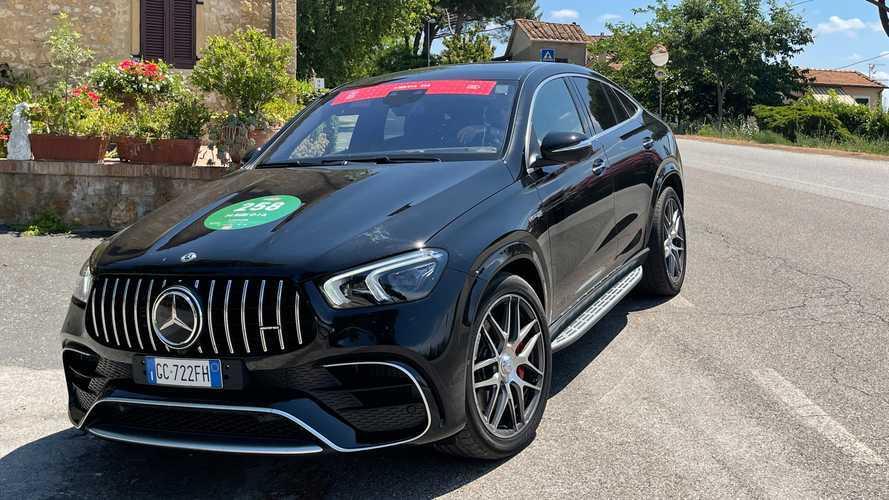 Con i SUV Mercedes-AMG sulla scia della 1000Miglia