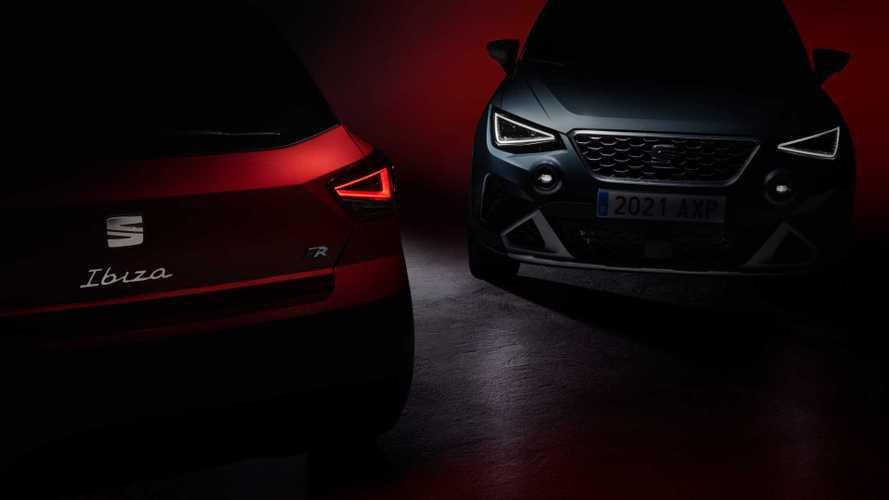 Seat Arona und Ibiza (2021): Erster Ausblick auf das Facelift