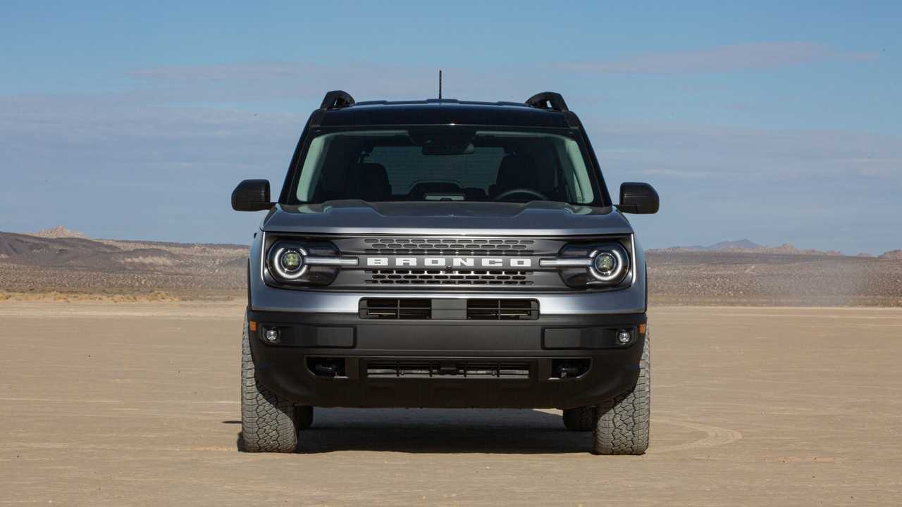 2021 Ford Bronco Sport Badlands Exterior Front View