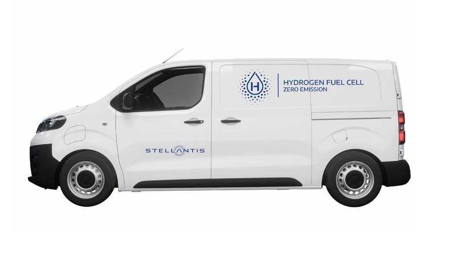 Stellantis anuncia van a hidrogênio que reabastece em 3 minutos