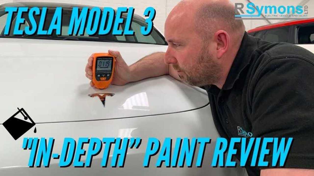 tesla model 3 paint review