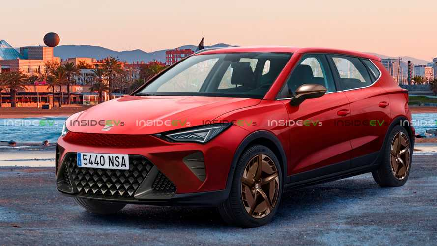 Upcoming electric Seat Mini-SUV believably rendered