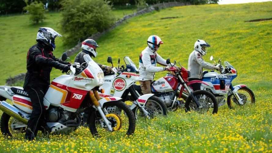 Classic Adventure Bikes Take On The Original Dakar Rally Route