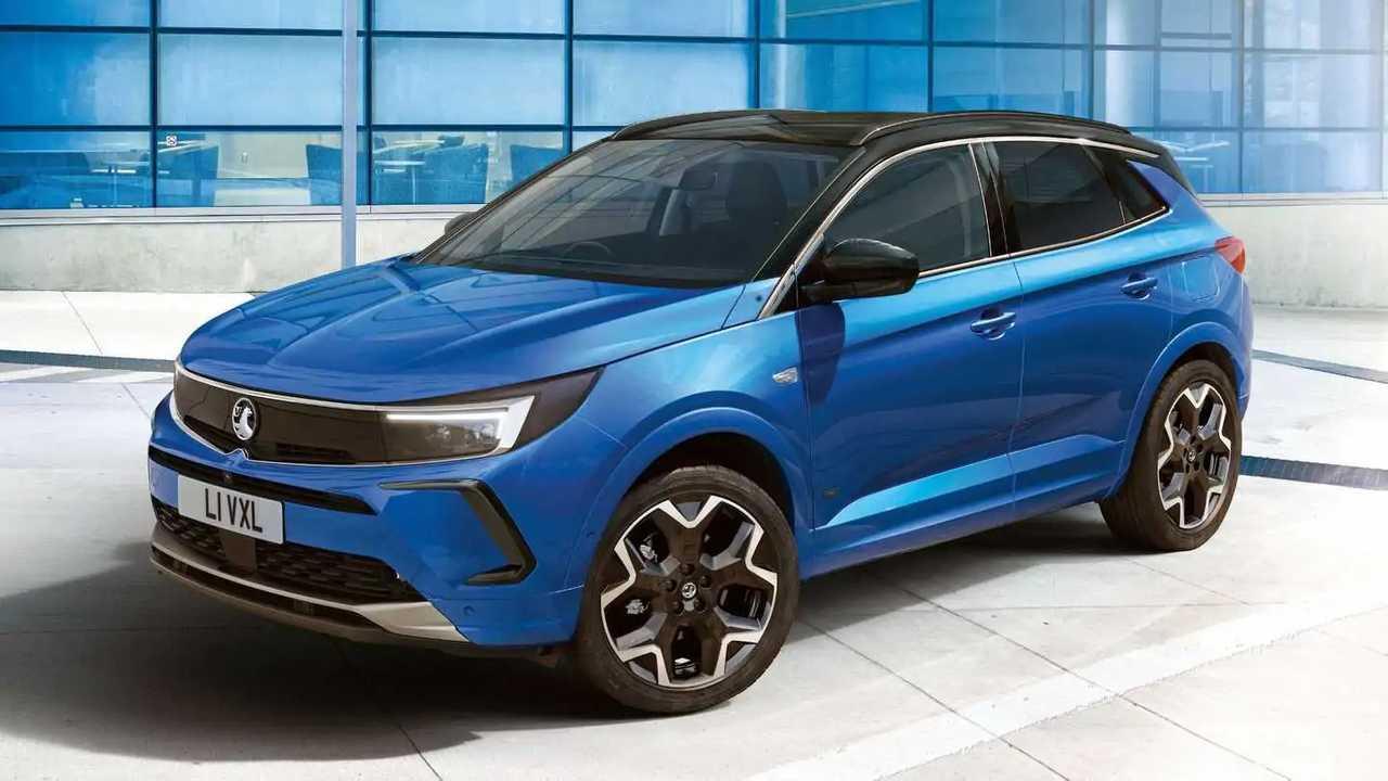 2022 Vauxhall Grandland facelift