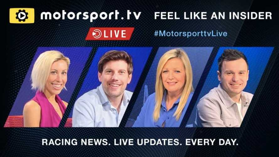 Motorsport.tv Live desvela a sus cuatro presentadores de noticias