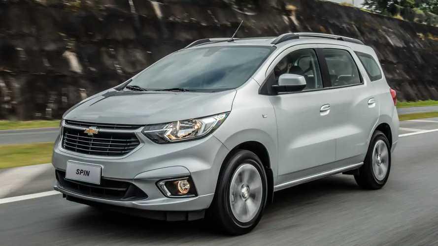 Chevrolet lança Spin 2022 com nova versão automática por R$ 89.390