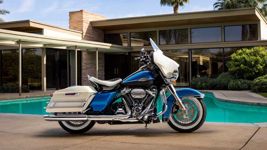 Harley Launches 2021 Electra Glide Revival and Icons Collection