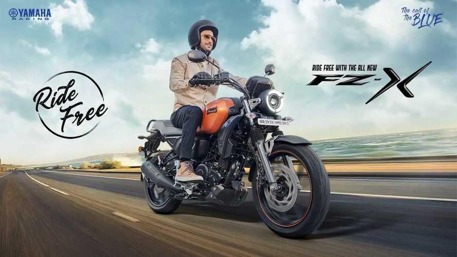 Por menos de R$ 8 mil, Yamaha FZ-X FI traz apelo retrô na Índia