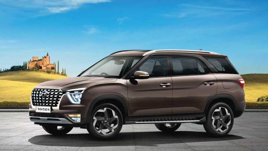 Hyundai Alcazar chegará ao México como Creta Grand para 7 pessoas