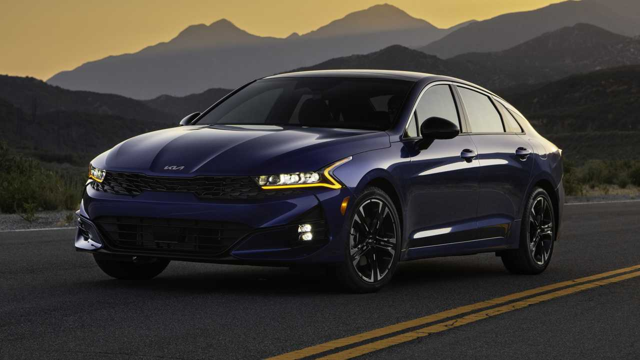 Kia K5 improvements for 2022 model year