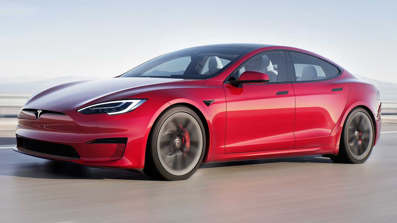 Tesla Model S Plaid Ön Cephe