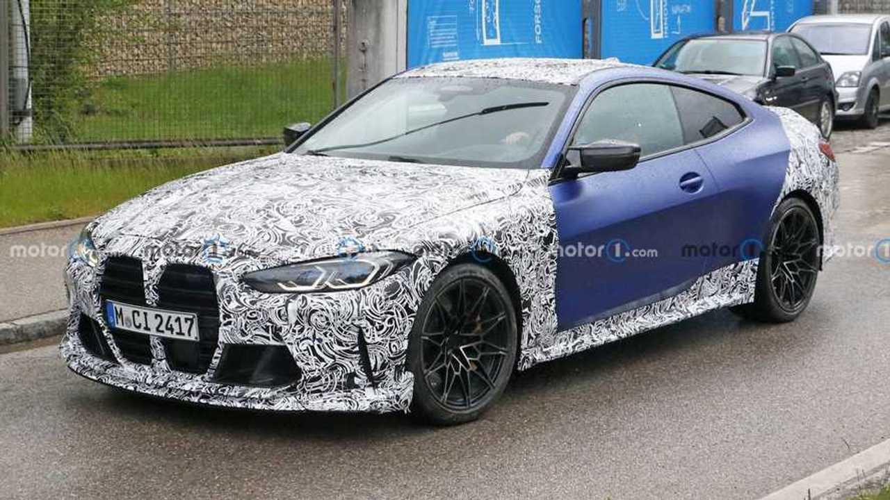 Spy photo BMW M4 terbaru.