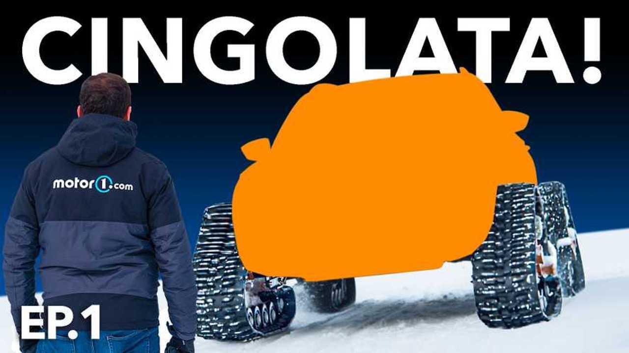 """Come si trasforma un SUV... in un """"gatto delle nevi""""!"""