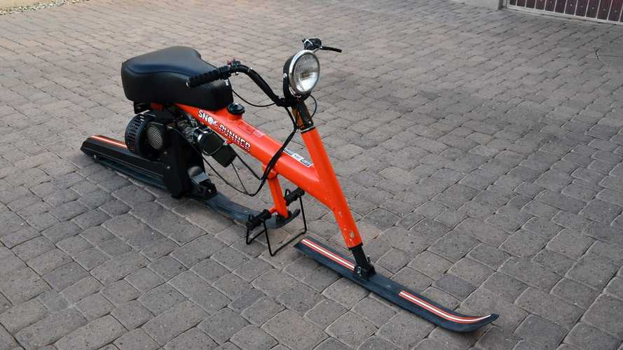 Cycleweird: That Time Chrysler Made A Snow Moped