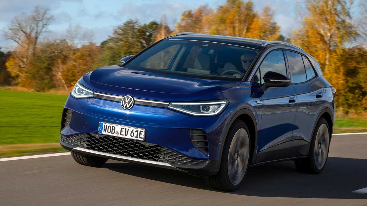 Der VW ID.4 ist zum World Car of the Year 2021 gewählt worden